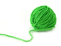 Groene draad stock afbeelding