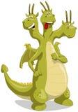 Groene draak Stock Afbeeldingen