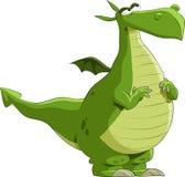 Groene draak stock illustratie