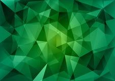 Groene Driehoeken royalty-vrije illustratie