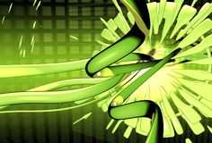 Groene Droom royalty-vrije illustratie