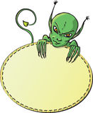 Groene duivelskaart Royalty-vrije Stock Afbeelding