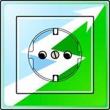 Groene elektroenergie Royalty-vrije Stock Fotografie