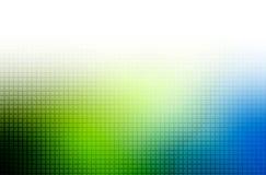 Groene en blauwe achtergrond Royalty-vrije Stock Foto's