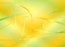 Groene en gele achtergrond Stock Afbeelding