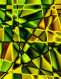 Groene en Gele Achtergrond Stock Afbeeldingen