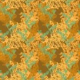 Groene en gele camouflage Royalty-vrije Stock Fotografie