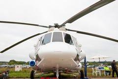 Groene en grijze militaire Helikopter Royalty-vrije Stock Foto's
