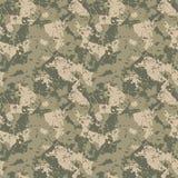 Groene en kaki camouflage Stock Foto