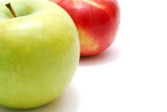 Groene en Rode Appelen Stock Foto