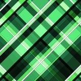 Groene en zwarte diaganal gestreepte patronen vector illustratie