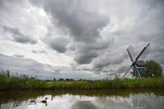 Groene energie door windmacht Royalty-vrije Stock Foto's