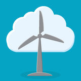 Groene energieinnovatie Royalty-vrije Stock Foto's