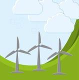 Groene energieinnovatie Stock Afbeeldingen