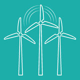 Groene energieinnovatie Royalty-vrije Stock Afbeeldingen