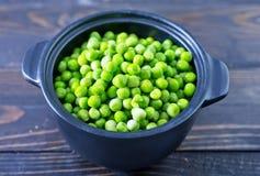 Groene erwt stock foto