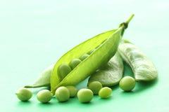 Groene Erwten Stock Afbeeldingen