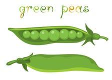 Groene Erwten Stock Afbeelding