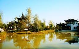 Groene Expo-Tuin in Zhengzhou Stock Fotografie
