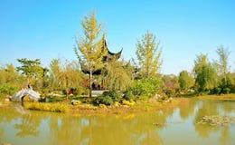 Groene Expo-Tuin in Zhengzhou Royalty-vrije Stock Fotografie