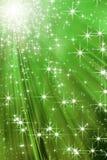 Groene flits stock illustratie