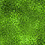 Groene Folie Naadloze Textuur Stock Fotografie