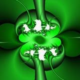 Groene fractal, het bloemrijke elegante fonkelen stelt lichten, textuur, abstracte achtergrond tegenover elkaar royalty-vrije stock fotografie