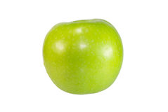 Groene geïsoleerde appel, Royalty-vrije Stock Fotografie