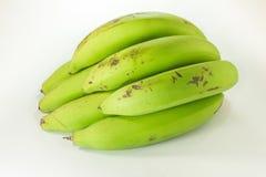 Groene Geïsoleerdeo Bananen Stock Afbeeldingen