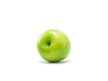 Groene geïsoleerdeu appel Royalty-vrije Stock Afbeelding