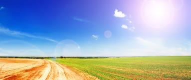Groene gebieden Stock Afbeelding
