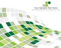 Groene gecontroleerde achtergrond Royalty-vrije Stock Foto's