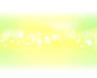 Groene gele achtergrond Royalty-vrije Stock Afbeeldingen