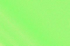 Groene gele gestippelde halftone Radiale langzaam verdwenen gestippelde gradiënt Halftintachtergrond stock illustratie