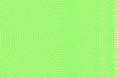 Groene gele gestippelde halftone Ronde dunne gestippelde gradiënt Halftintachtergrond vector illustratie