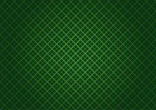 Groene geruite textuur royalty-vrije illustratie