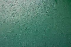 Groene geschilderde muur Royalty-vrije Stock Foto's