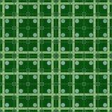 Groene gestippelde stof Royalty-vrije Stock Foto
