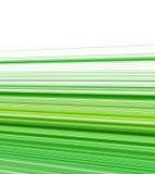 Groene gestreepte achtergrond Stock Fotografie