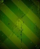 Groene gestreepte grunge militaire textuur Stock Afbeeldingen