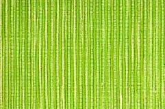 Groene stoffenachtergrond Stock Afbeelding