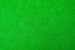 Groene gevoelde stoffentextuur voor achtergrond stock fotografie