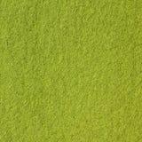 Groene gevoelde textuur Stock Afbeeldingen