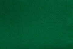 Groene gevoelde weefseldoek, de achtergrond van de close-uptextuur Royalty-vrije Stock Afbeelding
