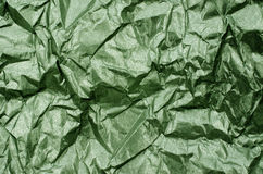 Groene Glanzende Metaaldocument Textuurachtergrond stock afbeelding