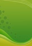 Groene golfachtergrond vector illustratie