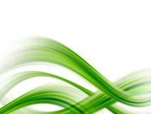 Groene golven royalty-vrije illustratie