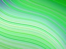 Groene golvende abstracte achtergrond stock illustratie