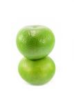 Groene grapefruit Stock Foto