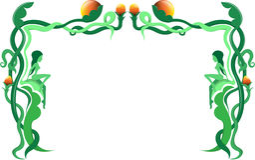 Groene grens Stock Afbeelding